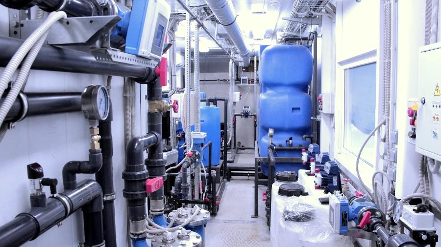 Водоподготовительная установка производительностью 10 м3/час