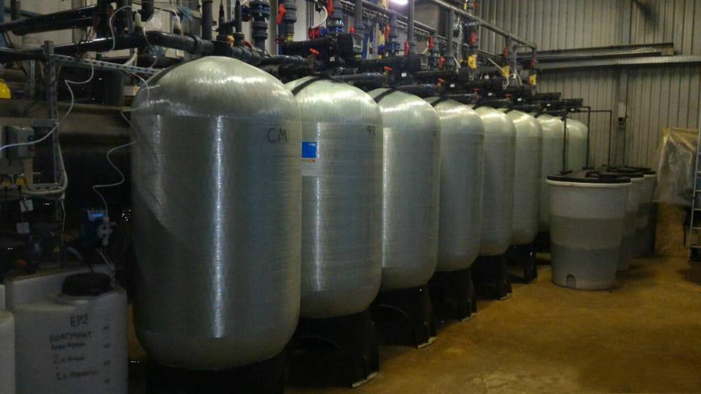 Часть системы водоподготовки