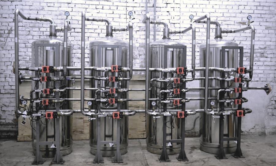 Станции обезжелезивания воды
