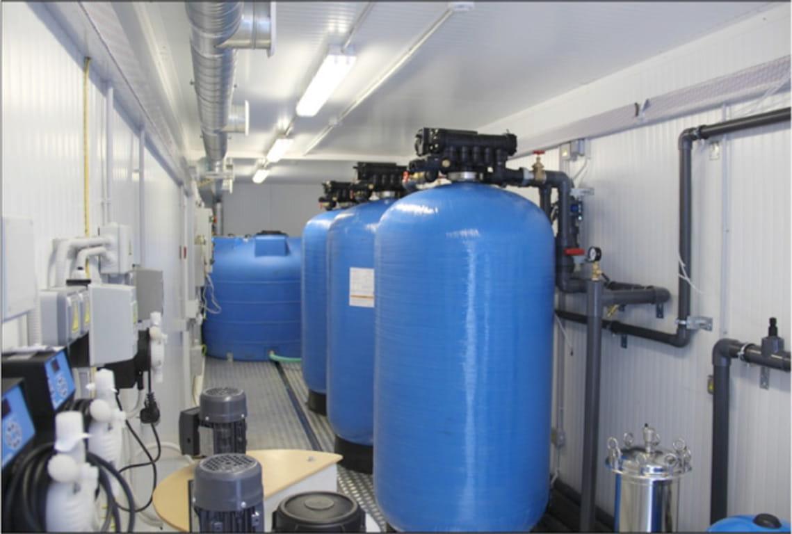 Контейнерные станции очистки воды