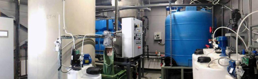 Реализованные проекты по очистке сточных вод
