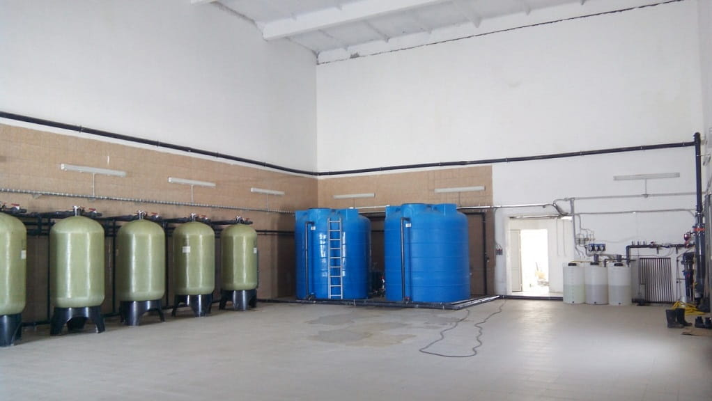 Пример системы водоподготовки
